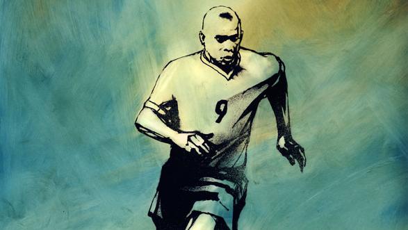 Heroes of Speed: Ronaldo, Portrait by Danijel Zezelj|