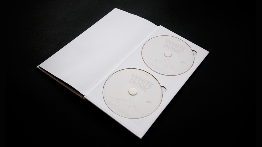 White Dunk Book and Documentary DVD 