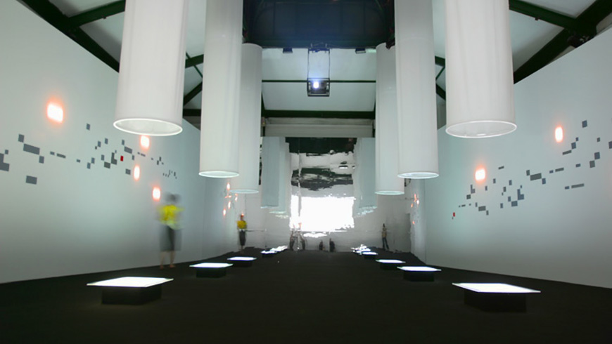 Art & Genealogy of Speed Installation, Nike Studio La Posteria, Milan  
