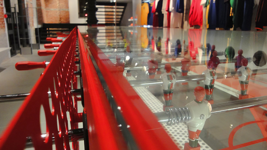 Nike Stadium Milano, 11 vs. 11 Foosball Table|