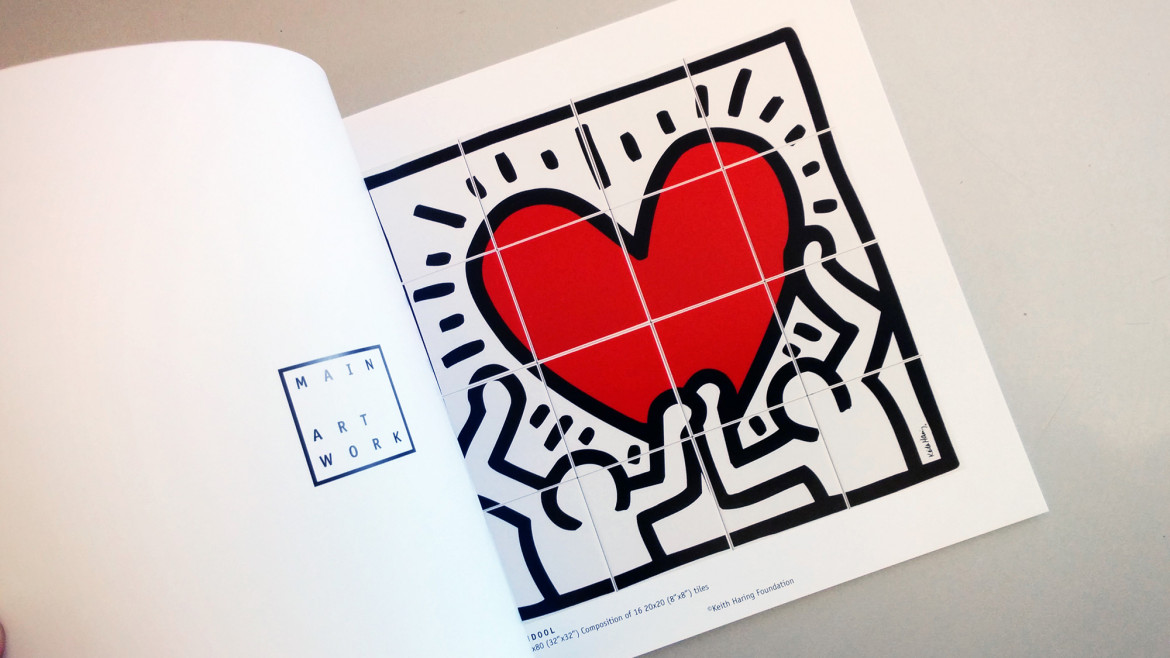 Game of Fifteen 1 – Keith Haring