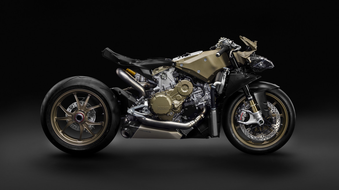 DUCATI 1199 SUPERLEGGERA LAUNCH