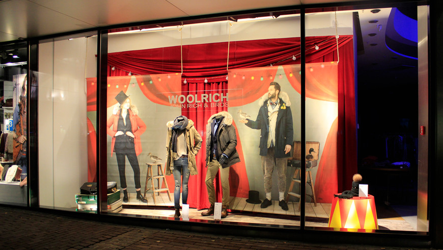 WOOLRICH FW14 WINDOW DISPLAYS