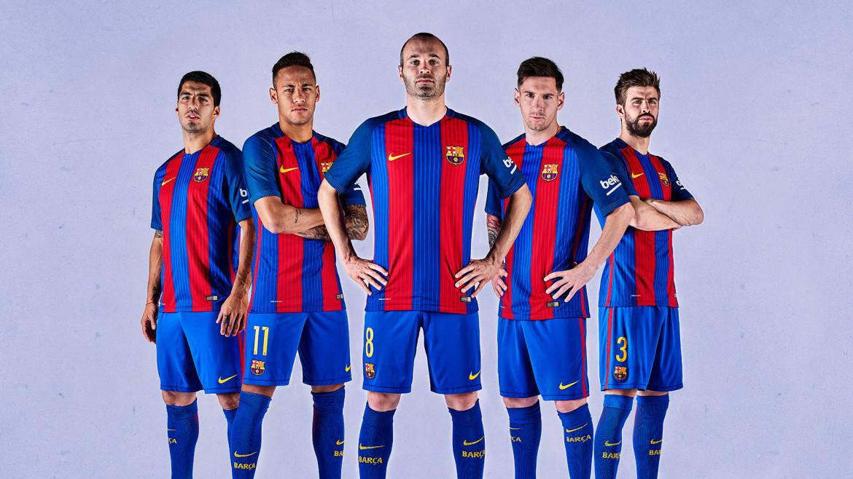 FC Barcelona Home & Away Kits