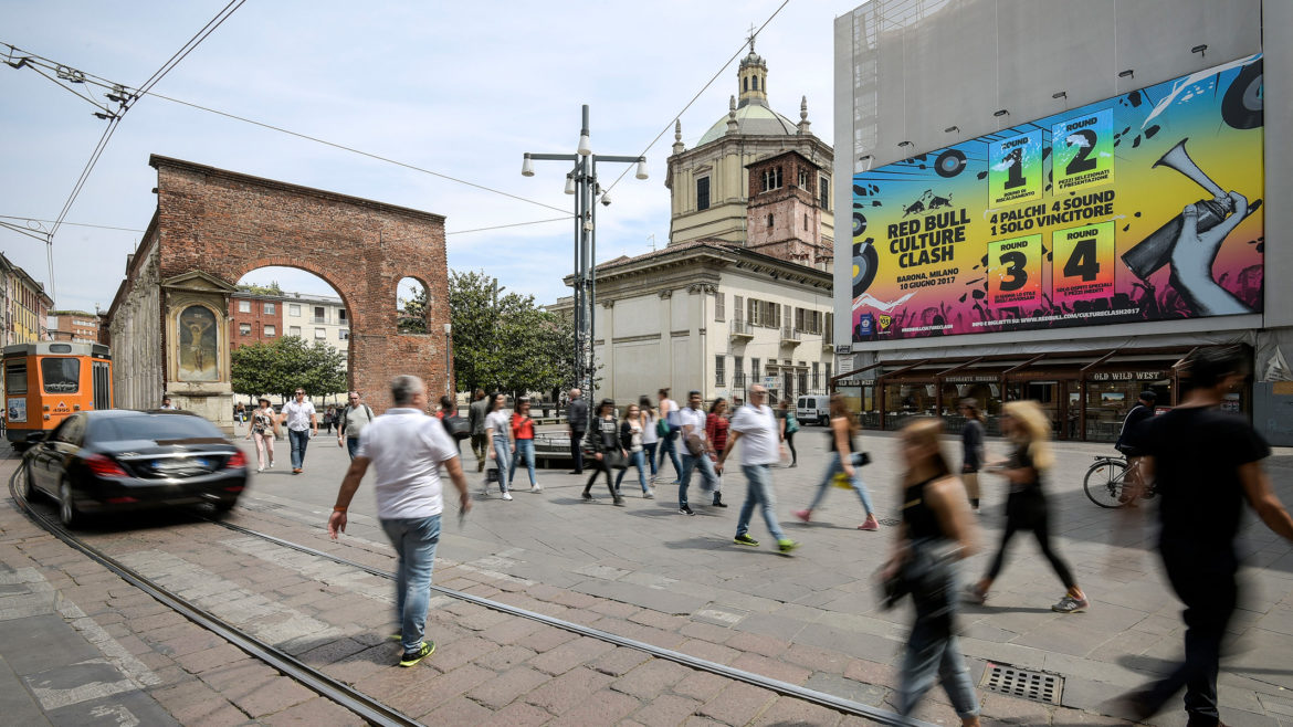 Red Bull Culture Clash - OOH Billboards